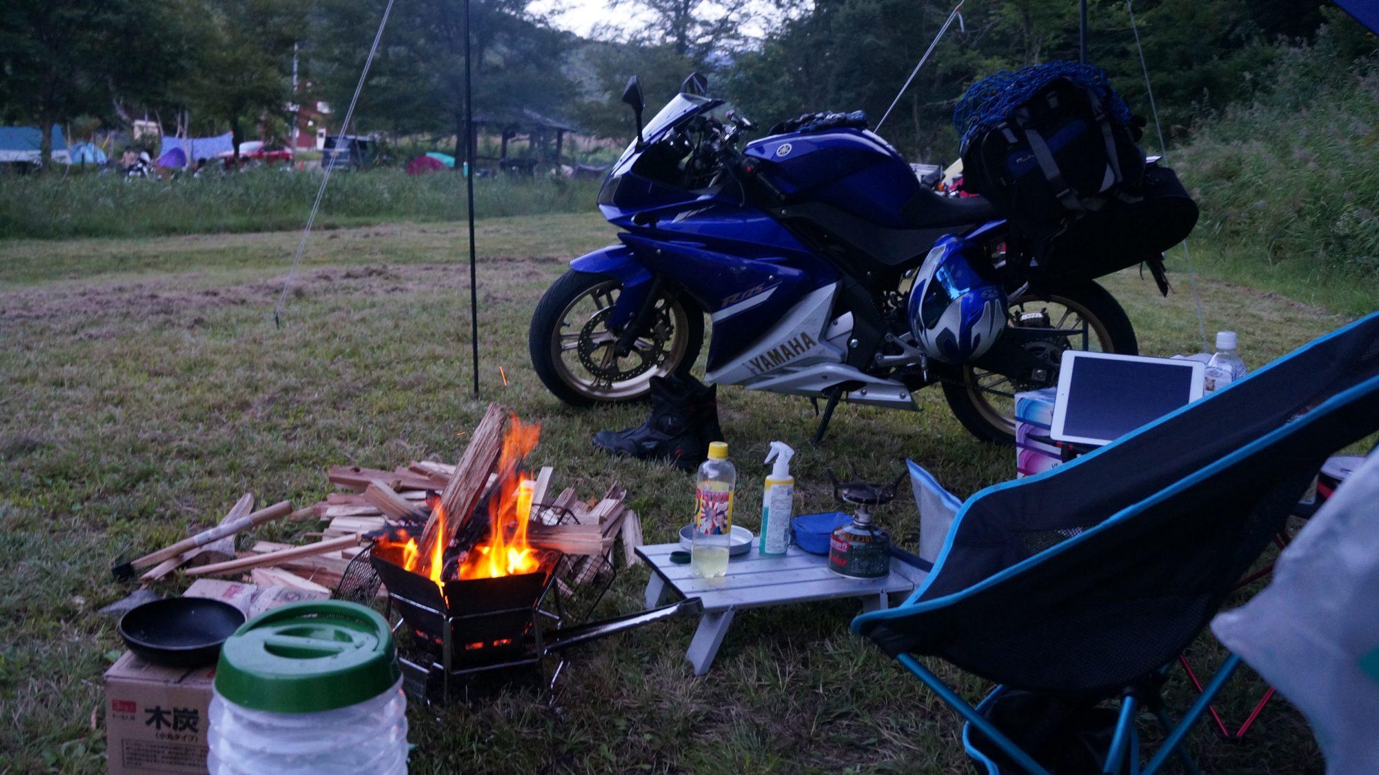 シルクバレーキャンプ場にキャンプしに行ってきた