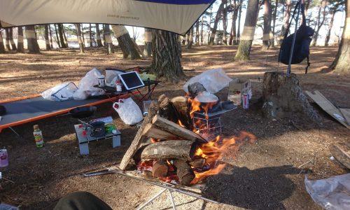 お試し冬キャンプ