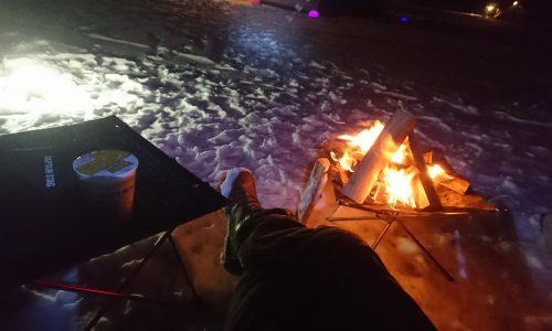 新年一発目!!雪中キャンプに挑む。